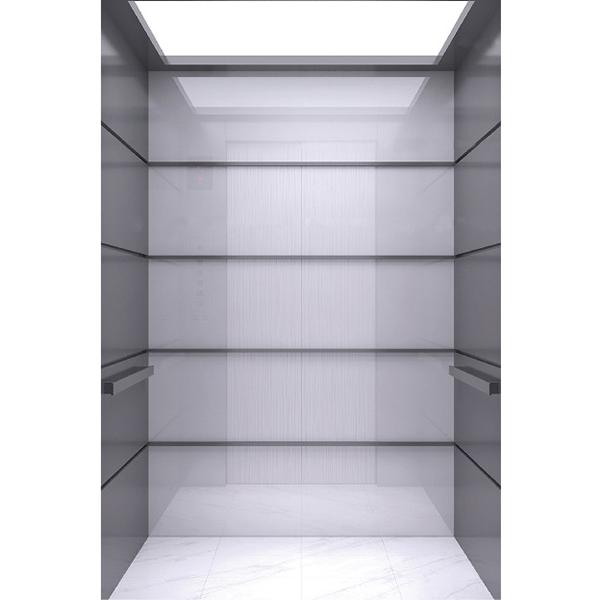 浙江吊頂發紋不銹鋼乘客電梯